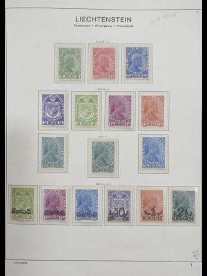 Postzegelverzameling 33274 Liechtenstein 1912-1996.