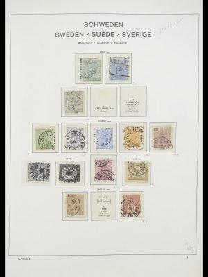 Postzegelverzameling 33293 Zweden 1855-1996.