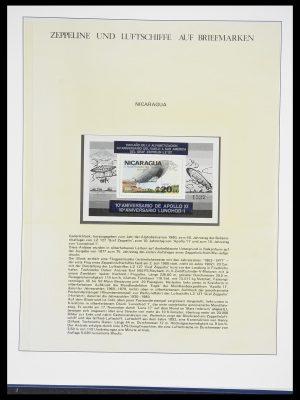 Postzegelverzameling 33307 Motief Zeppelin 1952-2010!