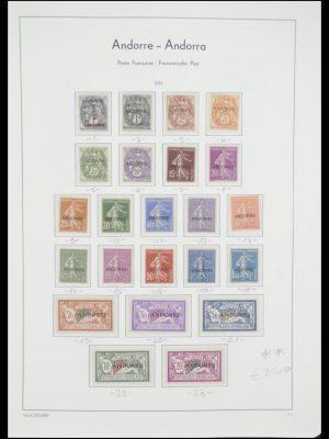 Postzegelverzameling 33316 Frans Andorra 1931-2016!