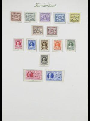 Postzegelverzameling 33356 Vaticaan 1929-1994.