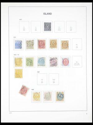 Postzegelverzameling 33387 IJsland 1876-2008.