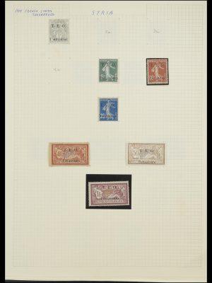 Postzegelverzameling 33410 Syrië 1919-1969.