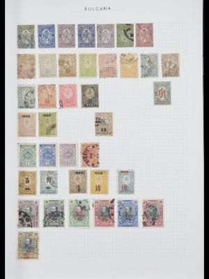 Postzegelverzameling 33417 Bulgarije 1879-1954.