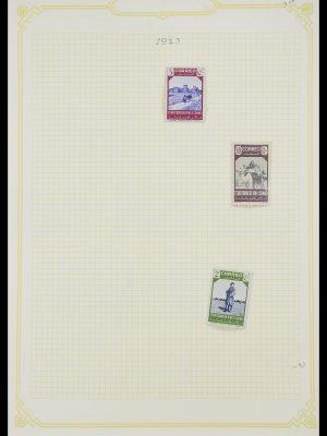 Postzegelverzameling 33437 Spaanse koloniën 1894-1967.