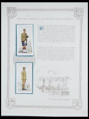 Postzegelverzameling 33444 Engeland sigarettenkaarten.