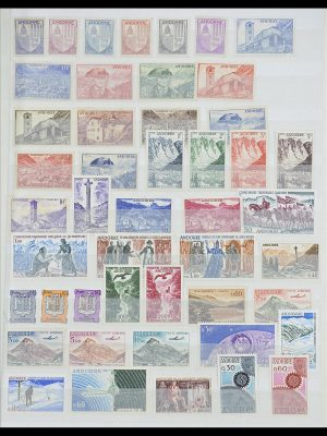 Postzegelverzameling 33466 Andorra 1931-1997.