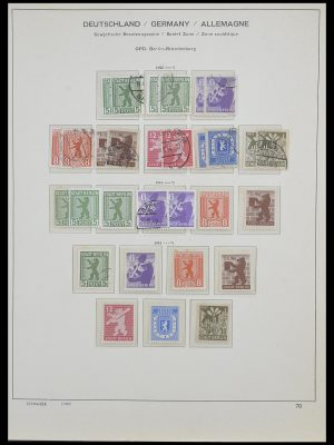 Postzegelverzameling 33478 Sovjet Zone 1945-1949.