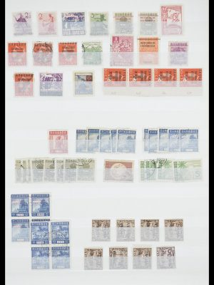 Postzegelverzameling 33489 Japanse bezetting Nederlands Indië en interimperiode 1942-1948.