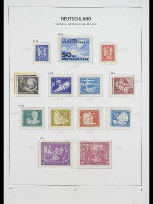 Postzegelverzameling 33526 DDR 1949-1980.
