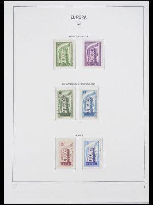 Postzegelverzameling 33530 Europa CEPT 1949-2013.