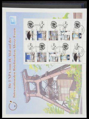 Postzegelverzameling 33535 Verenigde Naties 1951-2008.