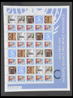 Postzegelverzameling 33538 Verenigde Naties t/m 2017!