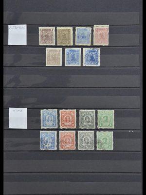 Postzegelverzameling 33552 Duitsland stadspost 1880-1905.
