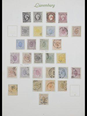 Postzegelverzameling 33609 Luxemburg 1852-1968.