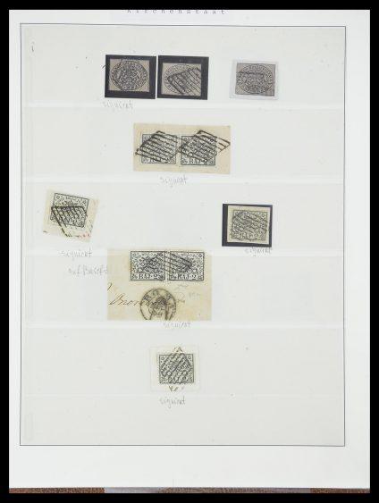 Postzegelverzameling 33621 Italiaanse Staten supercollectie 1851-1868.