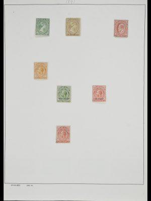 Postzegelverzameling 33626 Falkland Eilanden en Dependencies 1891-1987.