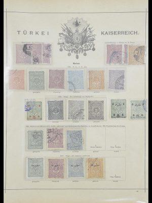 Postzegelverzameling 33627 Turkije fiscaal 1864-1921.