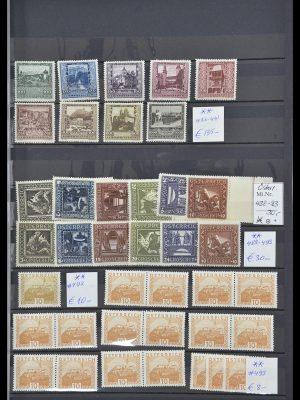 Postzegelverzameling 33668 Oostenrijk 1923-1957.