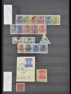 Postzegelverzameling 33671 Tsjechoslowakije 1918-2000.