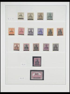 Postzegelverzameling 33664 Saar 1920-1934.