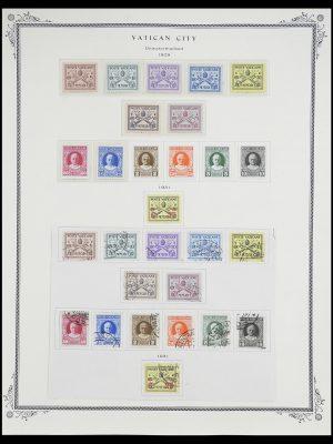 Postzegelverzameling 33676 Vaticaan 1929-1986.