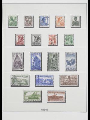 Postzegelverzameling 33683 Papua Nieuw Guinea 1952-2000.