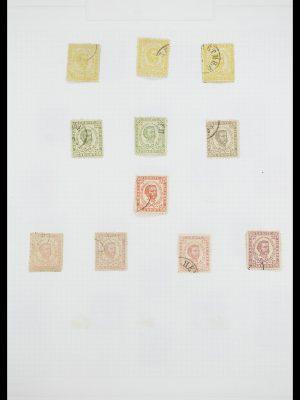 Postzegelverzameling 33684 Joegoslavië 1866-1918.