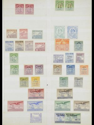 Postzegelverzameling 33686 Filippijnen 1930-1978.