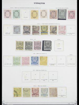 Postzegelverzameling 33691 Turkije 1865-1975.
