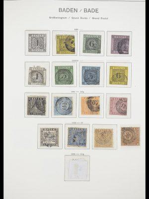 Postzegelverzameling 33694 Duitsland 1851-1946.