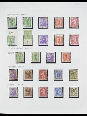 Postzegelverzameling 33698 Sovjet Zone 1945-1948.