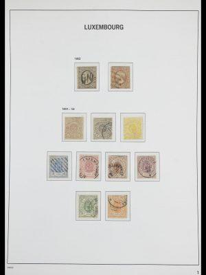 Postzegelverzameling 33703 Luxemburg 1852-1991.