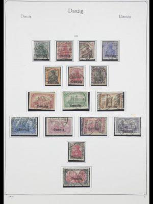 Postzegelverzameling 33705 Danzig 1920-1939.
