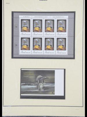 Postzegelverzameling 33706 Aland 1984-2013.