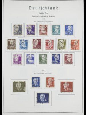 Postzegelverzameling 33709 DDR 1948-1973.