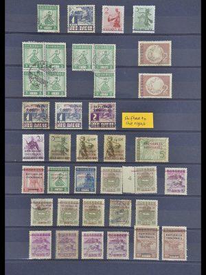 Postzegelverzameling 33722 Japanse bezetting Nederlands Indië en interimperiode 1942-1948
