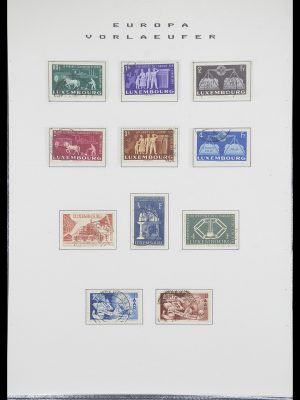 Postzegelverzameling 33728 Europa CEPT 1950-1985.