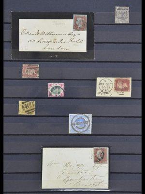 Postzegelverzameling 33730 Kanaaleilanden 1852(!)-1945(!).
