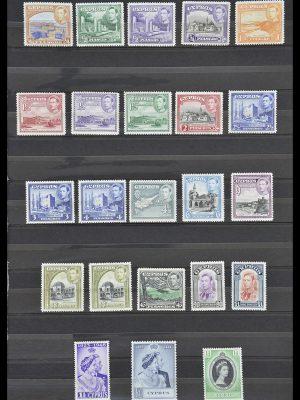 Postzegelverzameling 33733 Cyprus 1938-1977.