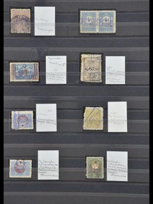Postzegelverzameling 33739 Turkije stempels 1867-1919.
