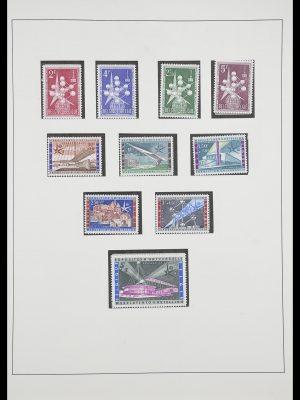 Postzegelverzameling 33747 Diverse motieven 1958-1986.