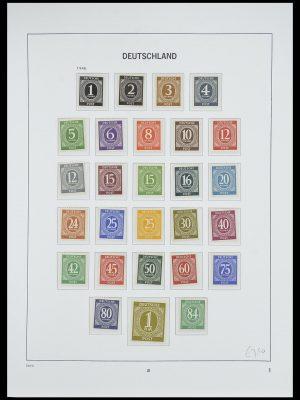 Postzegelverzameling 33754 Amerikaans-Britse Zone 1945-1948.
