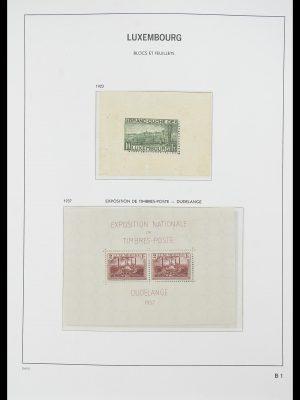 Postzegelverzameling 33774 Luxemburg 1852-2018!