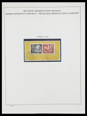 Postzegelverzameling 33782 DDR 1949-1990.