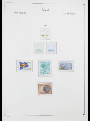 Postzegelverzameling 33783 Aland 1984-2001.