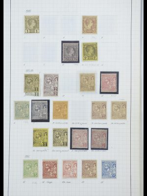 Postzegelverzameling 33792 Monaco 1885-1950.