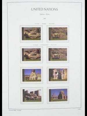 Postzegelverzameling 33798 Verenigde Naties Wenen 1979-2005.