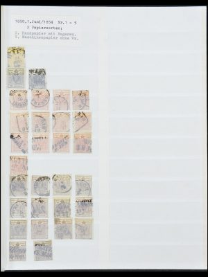 Postzegelverzameling 33800 Oostenrijk 1850-1914.