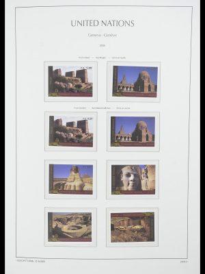 Postzegelverzameling 33811 Verenigde Naties Genève 1969-2005.